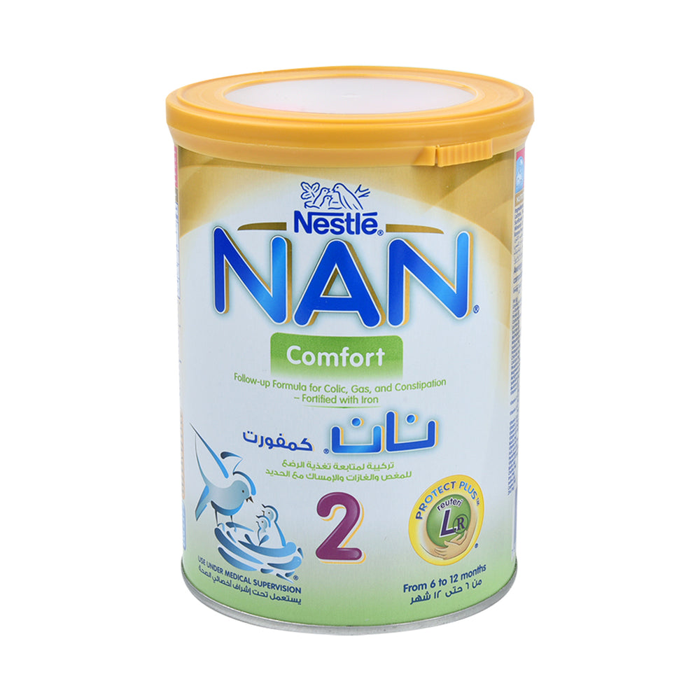 Nestle Nan Stage 2 Follow On Milk Comfort 400Grm