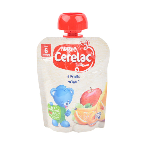 Nestle Cerelac 6 Fruits 90Grm