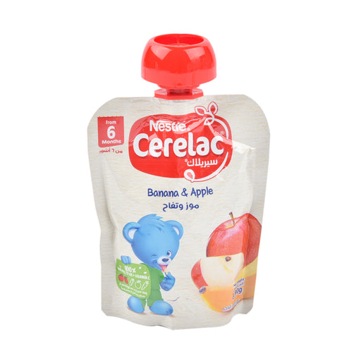 Nestle Cerelac Banana & Apple 90Grm