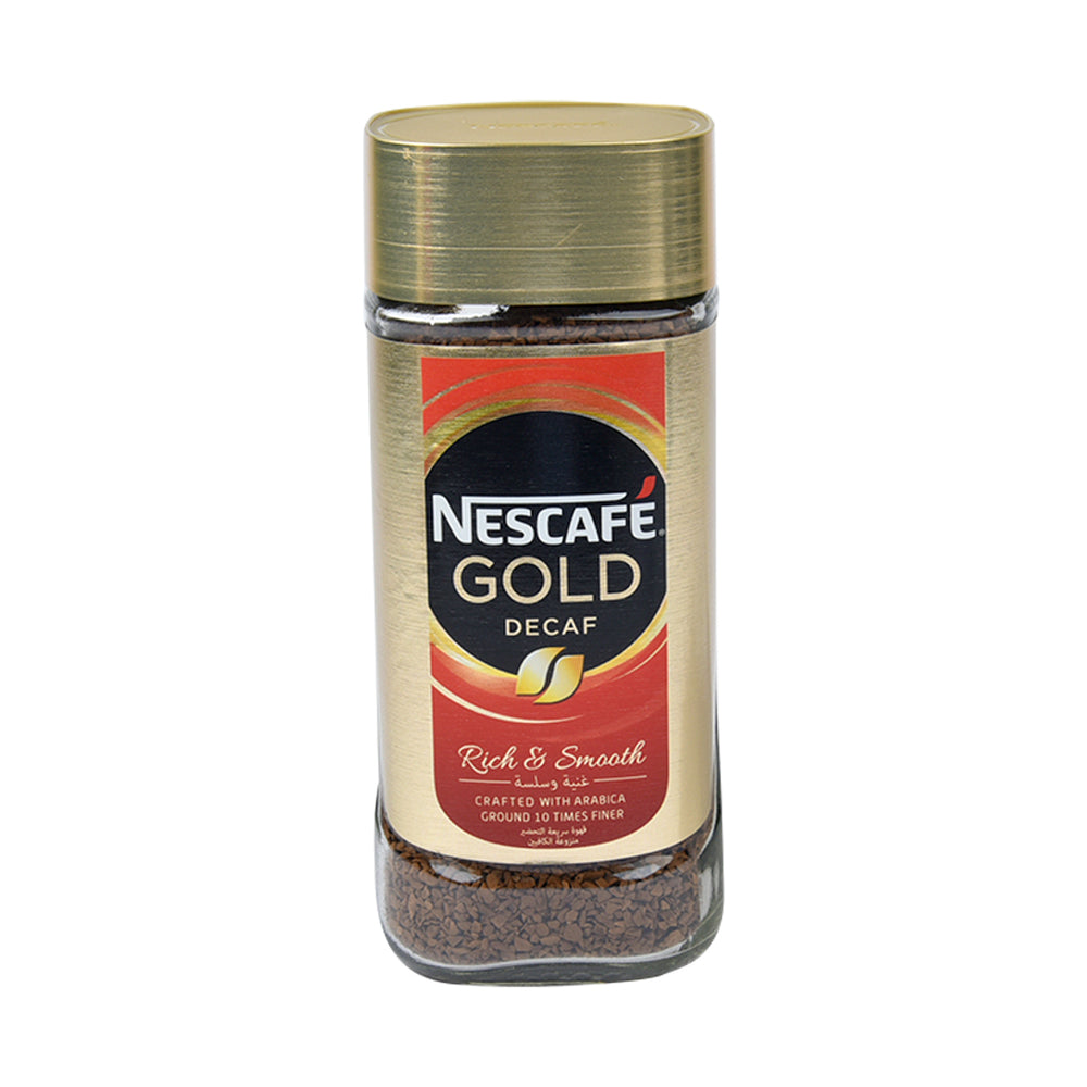 Nescafe Gold Blend Decaf Instant Coffee 100Grm