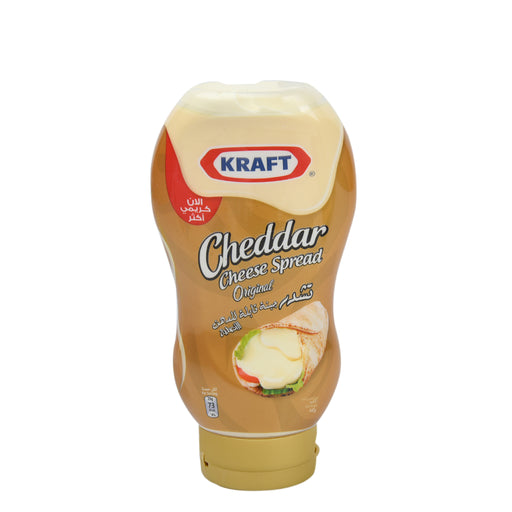 Kraft Cheddar Cream Cheese Squeeze 440gm