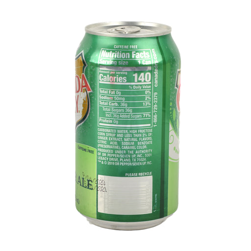 Canada Dry Ginger Ale 12Oz