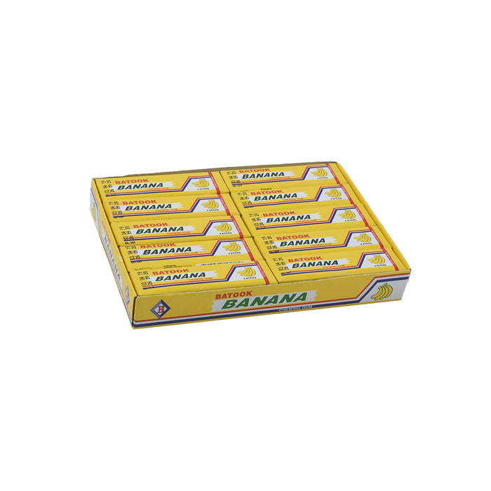 Batook Banana Flavoured Chewing Gum 20pack