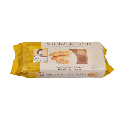 Vicenzi Puff Pastry Stick With Butter 125Grm