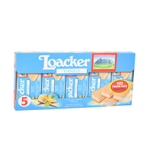 Loacker Vanille Wafer Biscuit 45Grm