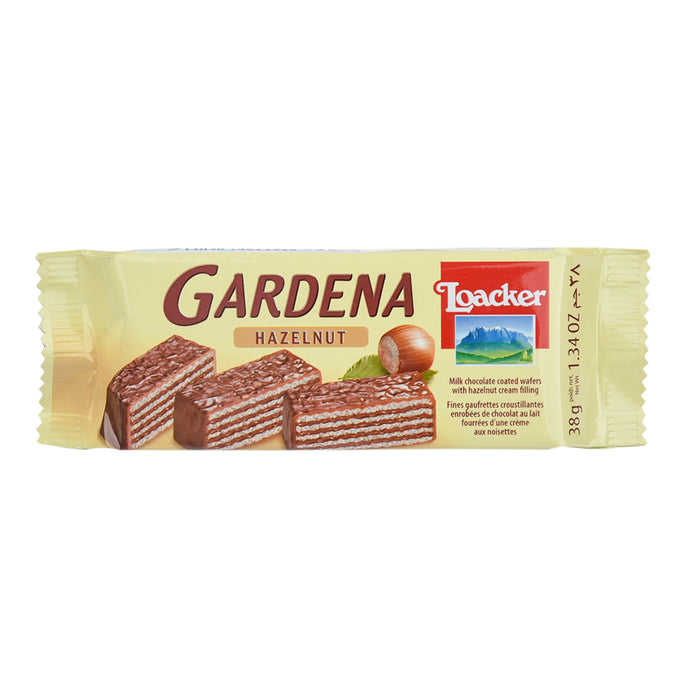 Loacker Gardena Hazelnut Wafer Biscuit 38Grm