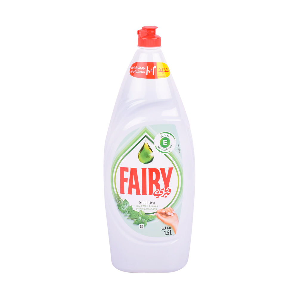 Fairy  Dishwash Liquid Sensitive Tea&Mint Leaves  1.5 L
