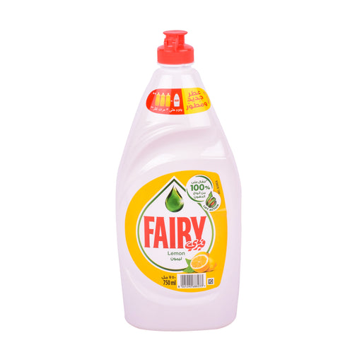 Fairy Dishwash Liquid Lemon Lift Action 750