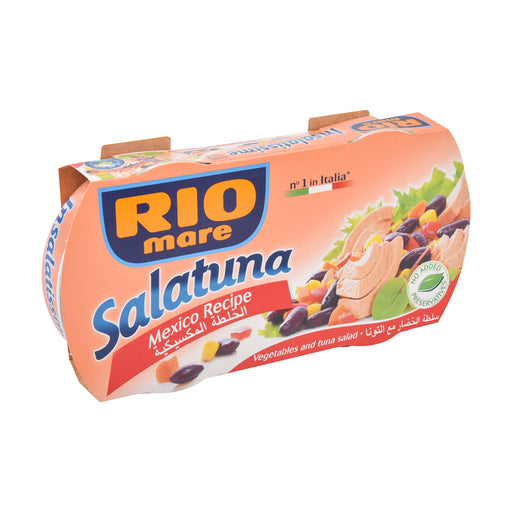 Rio Mare Salatuna Mexican Recipe Vegetable 2x160gm