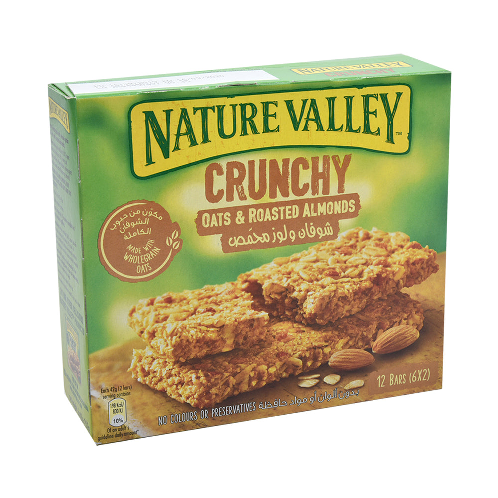 Nature Valley Crunchy Granola Bars Roasted Almond 42Grm