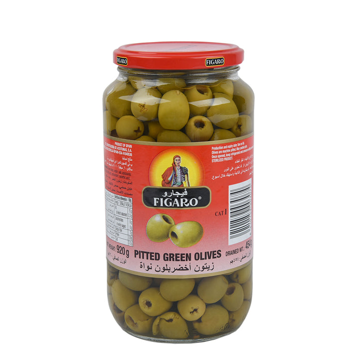 Figaro Pitted Green Olives 920gm