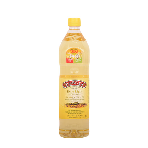 Borges Extra Light Olive Oil 1Ltr