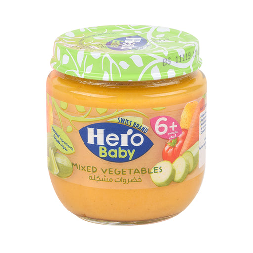 Hero Strained Mixed Vegetables Baby Food 120Grm