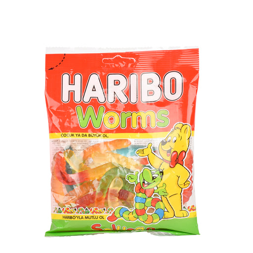 Haribo Jelly Candy Worm 160Grm