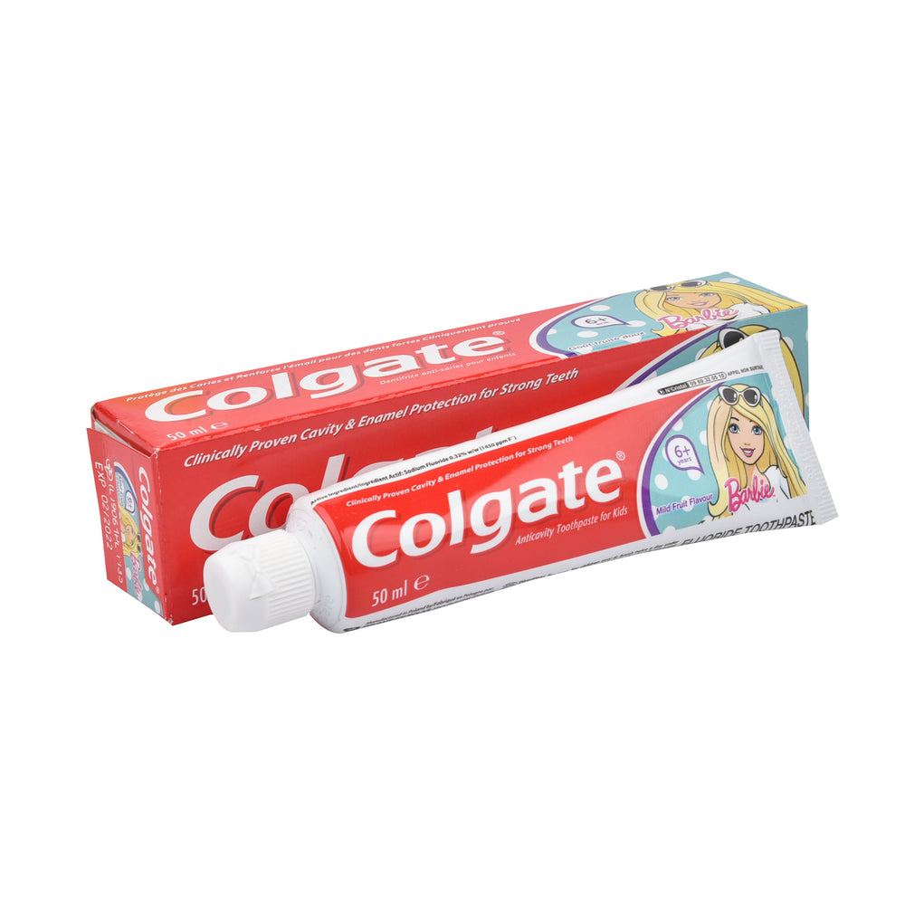 Colgate Tooth Paste Barbie 6+ 50Ml