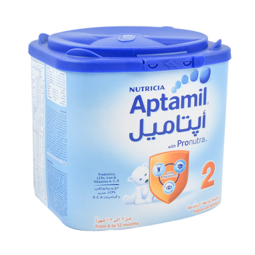 Aptamil Stage 2 Infant Follow On Milk 400Grm