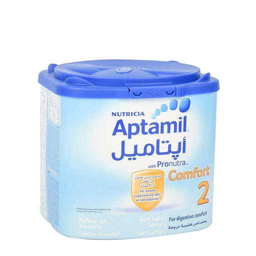 Aptamil Stage 2 Infant Follow On Milk Comfort 400Grm