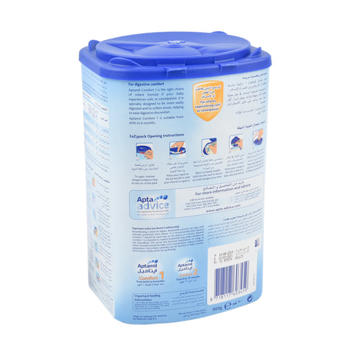 Aptamil Stage 1 Infant Formula Milk Comfort 900Grm