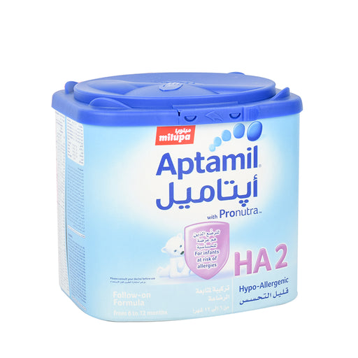 Aptamil Stage 2 Infant Follow On Milk Hypo-Allergenic - 400Grm