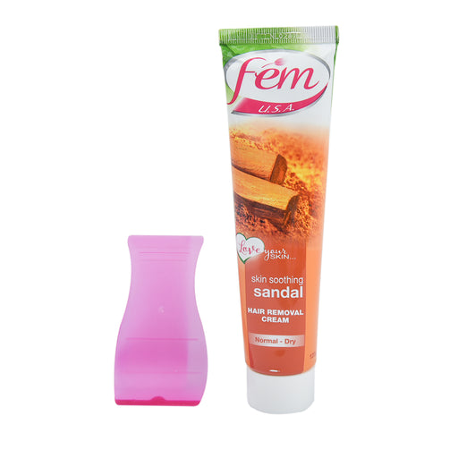 FEM Hair Remover Cream Sandal 120Gm
