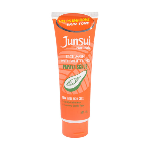 Junsai Face Wash Nat Papaya Scrub 100Gm