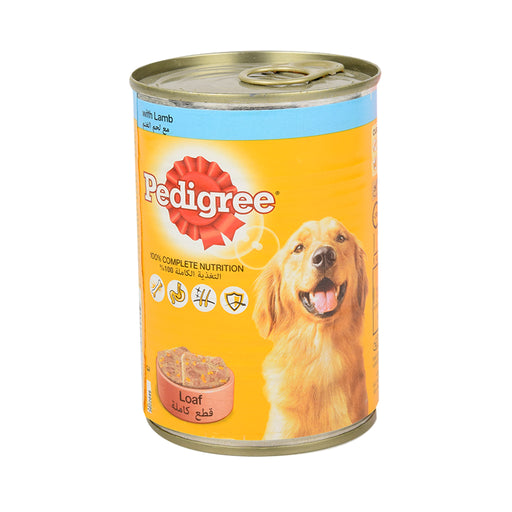 Pedigree Dog Food Lamb 400gm