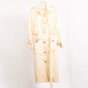 Ivory Wren Trench (Size UK 8)