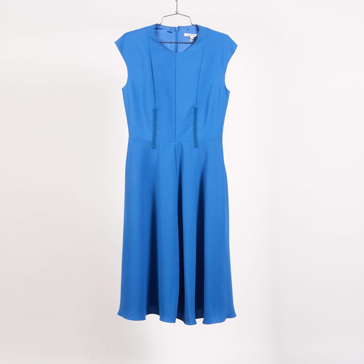 Royal Blue Cady Dress (40/42)