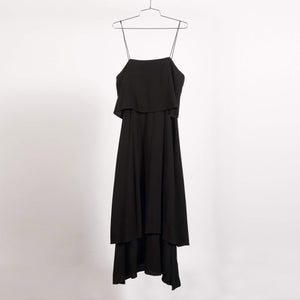 Black Simple Layer Dress (Size Large)