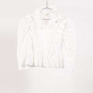 White Edith Top (UK 12)