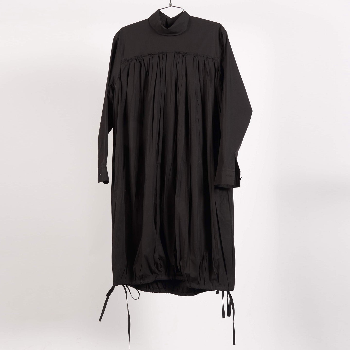 Black Foulard Dress (Size 34 & 38)