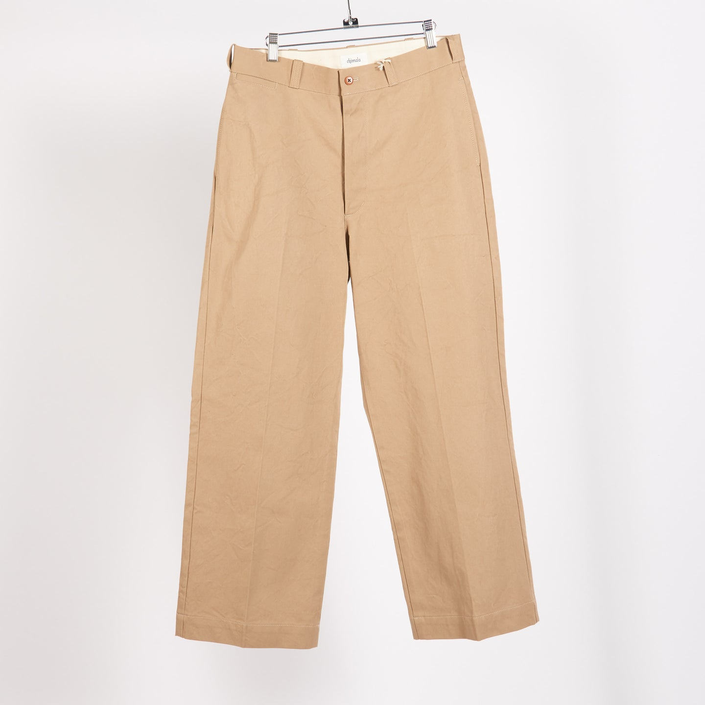 Beige Military Chino Trousers (Size 30)