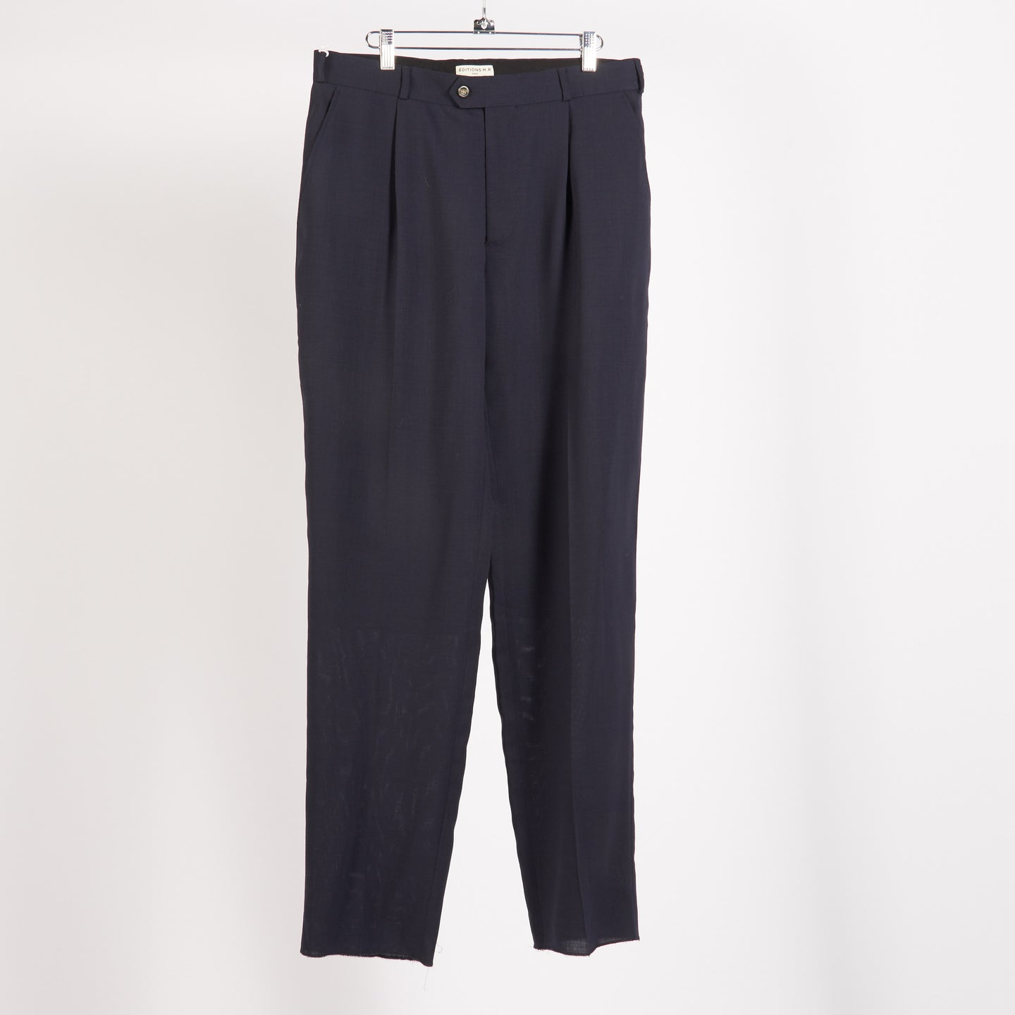 Navy Carrot Pant (Size 50, 52)