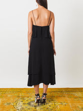 Load image into Gallery viewer, Black Simple Layer Dress (Size Large)