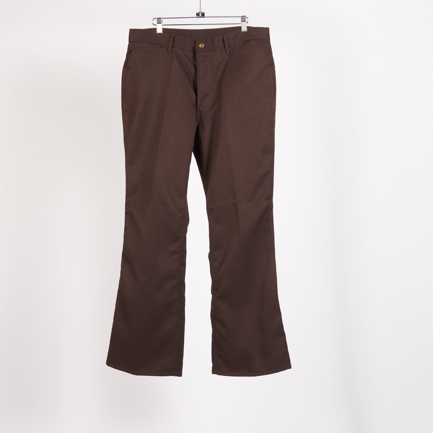 Brown Boot-Cut Jeans (Size L, XL)