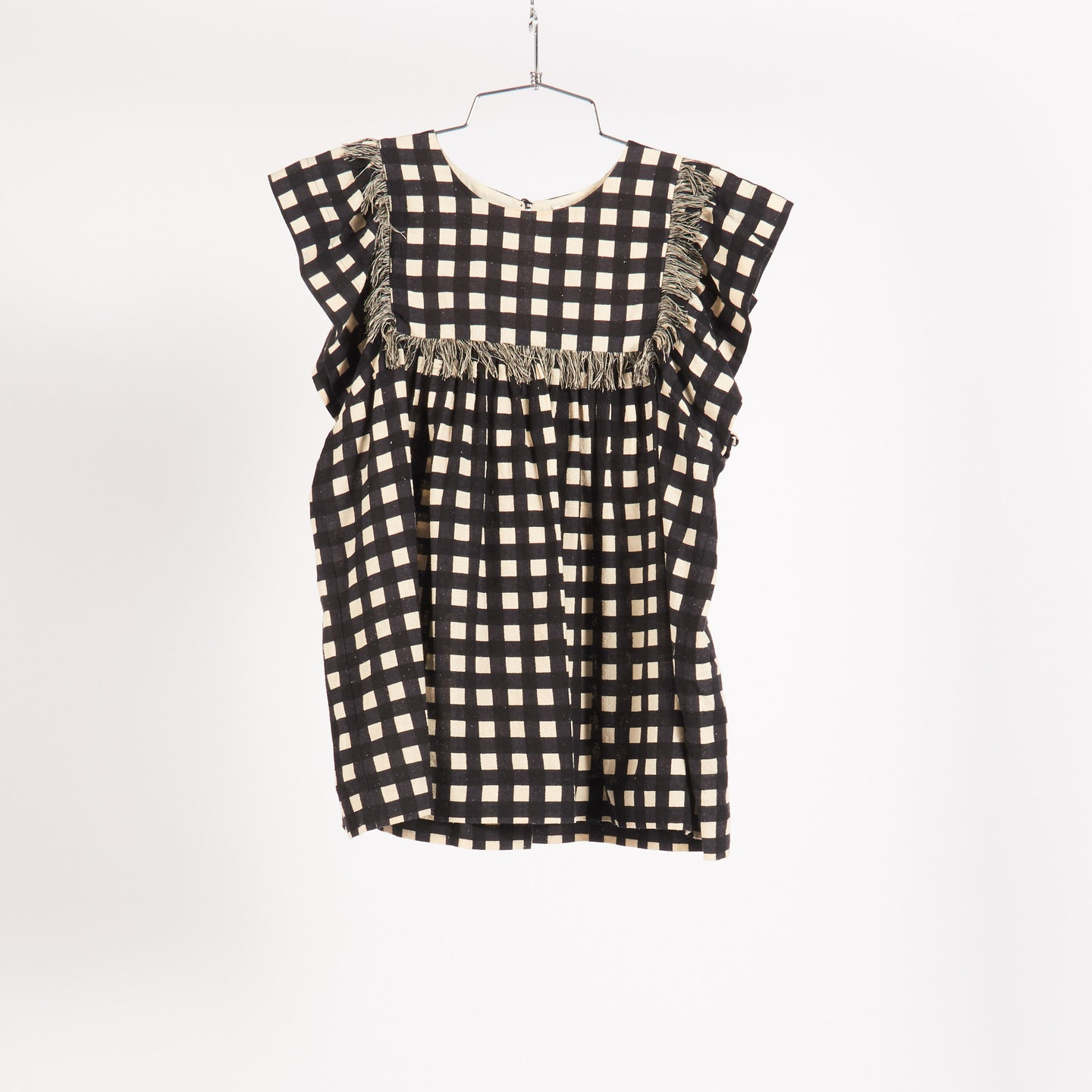 Noir Check Brice Top