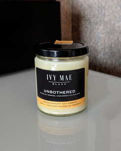 Unbothered | Aromatherapy Soy Candle