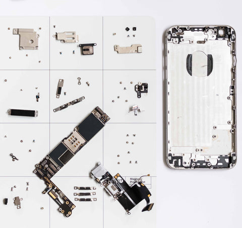 i-Phone in pieces