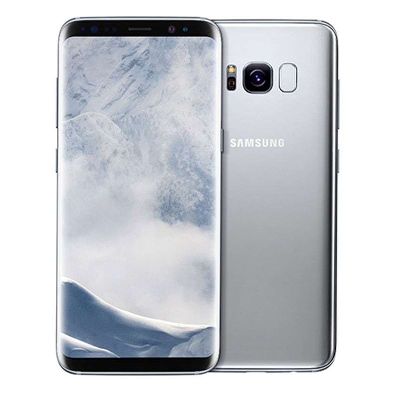 Samsung S8 Plus 64GB / Arctic Silver / Great Condition