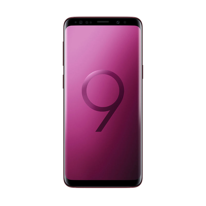 Samsung S9 Plus 64GB / Burgundy Red / Good Condition