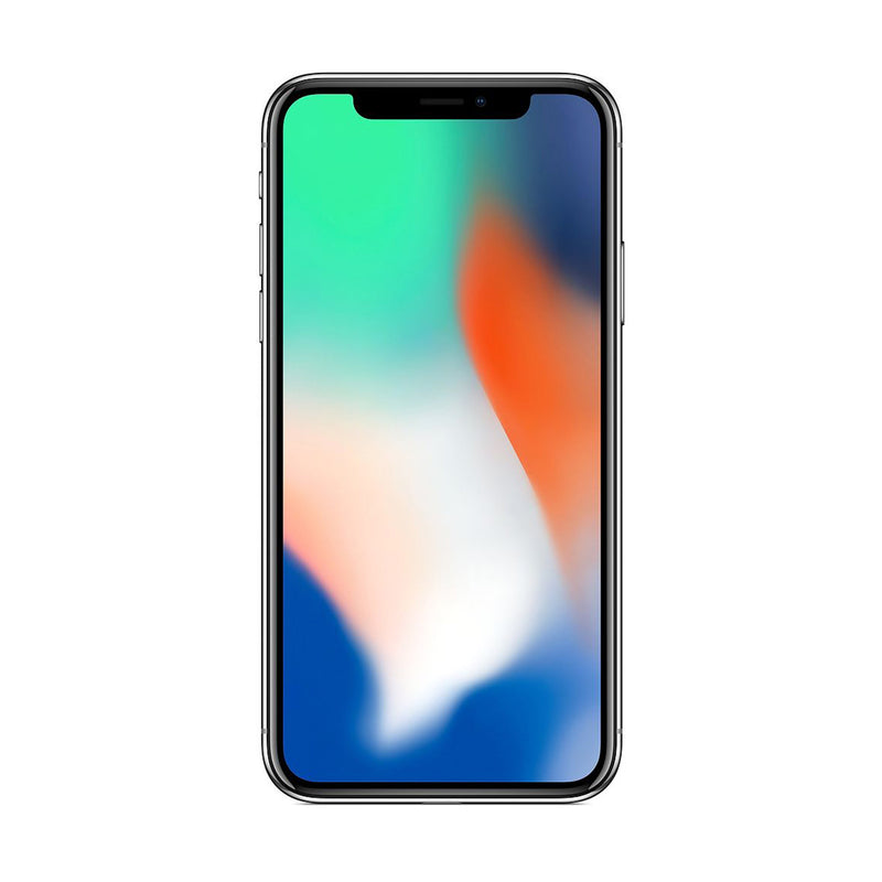Apple iPhone X 64GB / Silver / Premium Condition