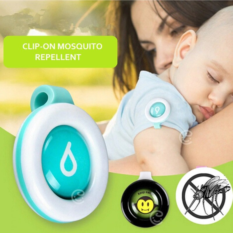 CLIP-ON MOSQUITO REPELLANT (SET OF 3)