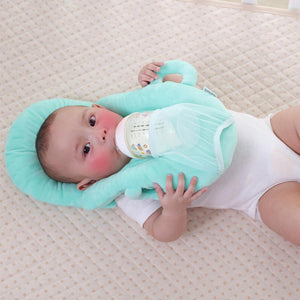 Baby Self-Feeding Pillow Blue
