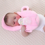 Baby Self-Feeding Pillow Pink