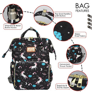 MULTI-FUNCTION MATERNITY DIAPER BAG