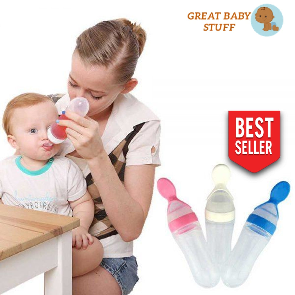 Baby Bottle Spoon Feeder
