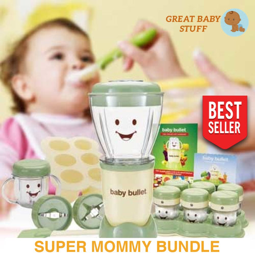 Baby Bullet Blender (Supper Mommy Bundle!!)