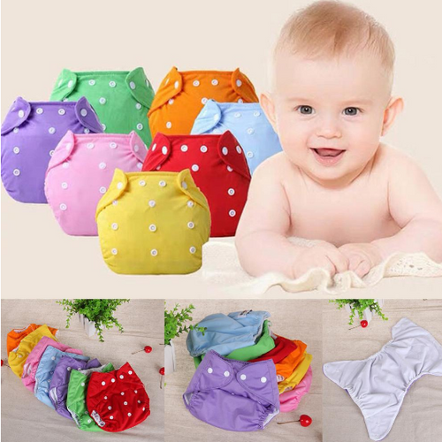 BABY WASHABLE DIAPERS (SET OF 2)