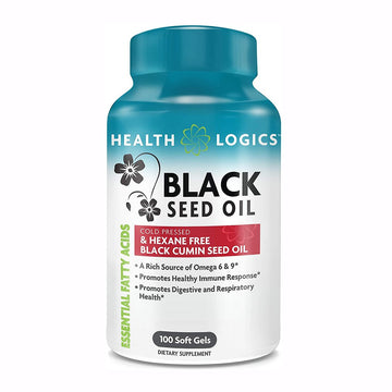 Health Logics Black Seed Oil SoftGels