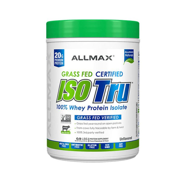 ISO Tru Grass Fed 100% Whey Protein Isolate
